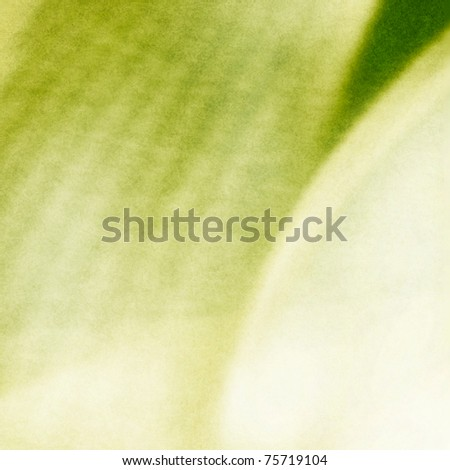 artistic organic green motive for background - stock photo
