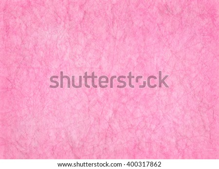 Artistic painted pink paper background in soft archaic style - stock photo