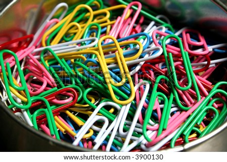 Artistic paperclips