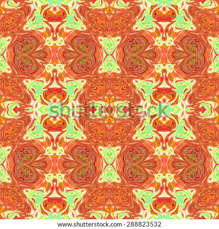 Artistic seamless colorful background