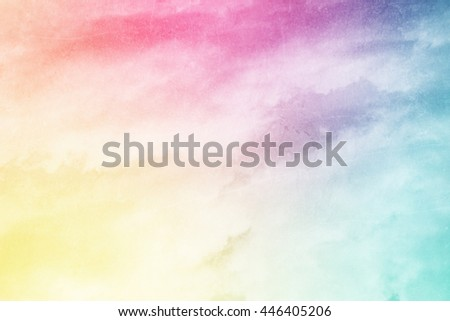 artistic sky and cloud abstract background with grunge texture - stock photo