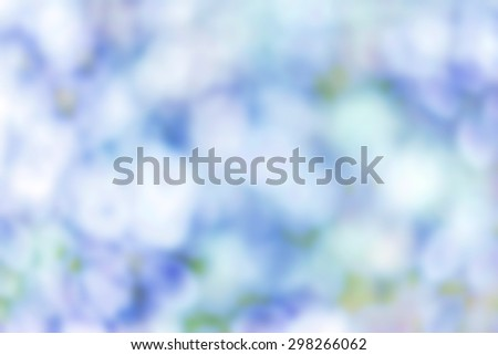 Artistic Soft light abstract background  blurred magic lights for your design. Blie white color - stock photo