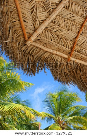 Aruba View - stock photo