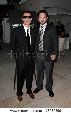 Ash Adams and Brian Presley   at SBIFF's 3rd Annual 'Kirk Douglas award honoring Excellence in film'. Biltmore Four Seasons Hotel, Santa Barbara, CA.10-02-08