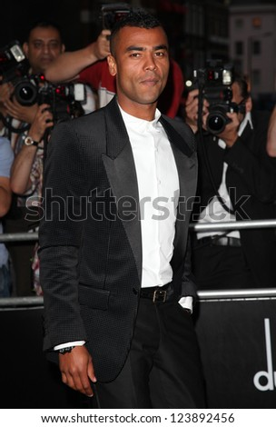 Ashley Cole arriving for the 2012 GQ Men Of The Year Awards, Royal Opera House, London. 05/09/2012 Picture by: Alexandra Glen - stock photo