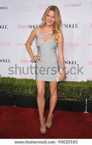 Ashley Hinshaw at the 8th Annual Teen Vogue Young Hollywood Party in partnership with Michael Kors at Paramount Studios, Hollywood. October 1, 2010  Los Angeles, CA Picture: Paul Smith / Featureflash