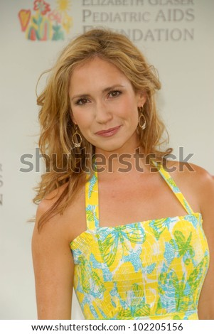 Ashley Jones at the 2010 A Time For Heroes Celebrity Picnic, Wadsworth Theater, Los Angeles, CA. 06-13-10