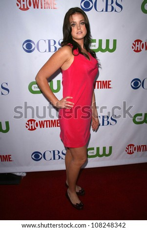 Ashley Newbrough  at the CBS, CW and Showtime Press Tour Stars Party, Boulevard3, Hollywood, CA. 07-18-08