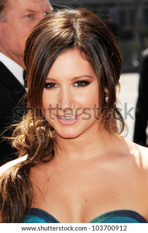 Ashley Tisdale at the 61st Annual Primetime Creative Arts Emmy Awards. Nokia Theatre, Los Angeles, CA. 09-12-09