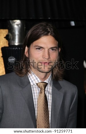 "Ashton Kutcher at the ""New Year's Eve"" Los Angeles Premiere, Chinese Theater, Hollywood, CA 12-05-11 - stock photo"