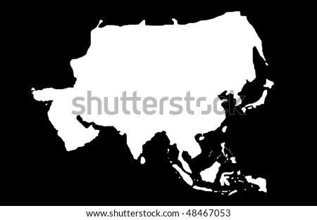 Asia - stock photo