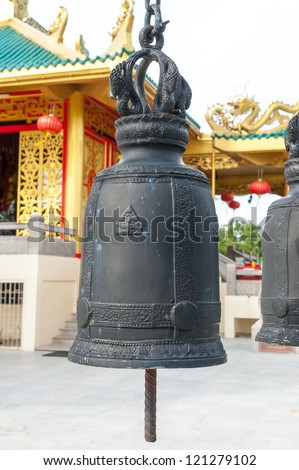 Asian bell hanging - stock photo