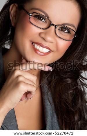 Asian Businesswoman - stock photo