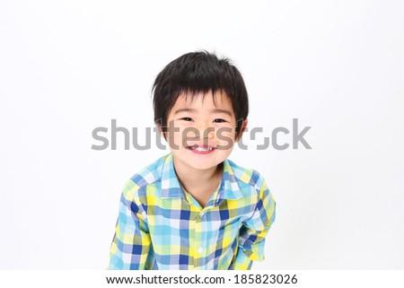Asian child - stock photo