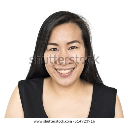 Asian Ethnicity Woman Studio Concept