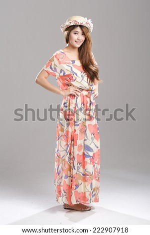 Asian Wrap Dress