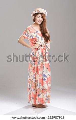Asian Wrap Dress