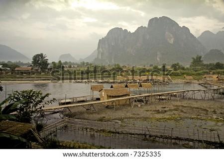 Asian Landscape - stock photo