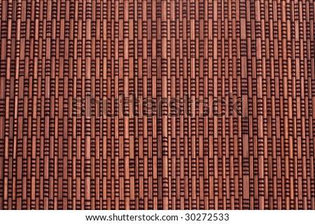 asian mat - stock photo