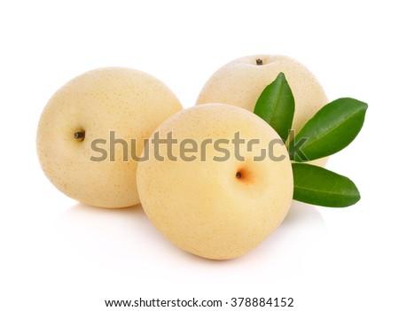 asian-pear fruit  - stock photo