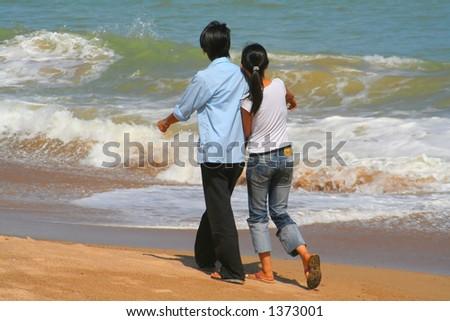 Asian people - stock photo
