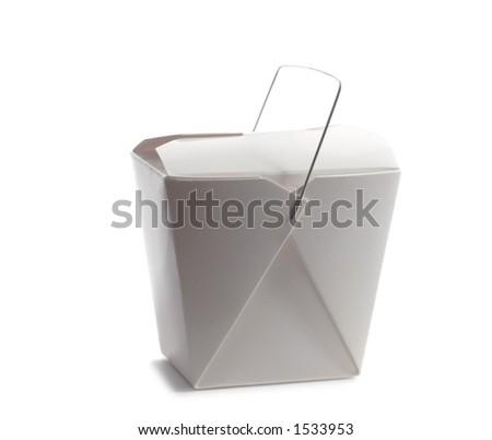 Asian take out box - stock photo