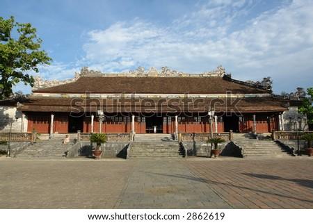 Asian Temple Pagoda - stock photo