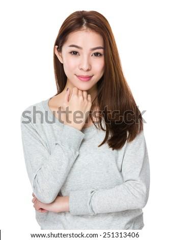 Asian Woman - stock photo