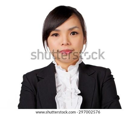 Asian woman. Smiling Asian Educational / Business woman. - stock photo