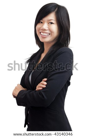 Asian woman. Smiling Asian Educational / Business woman.