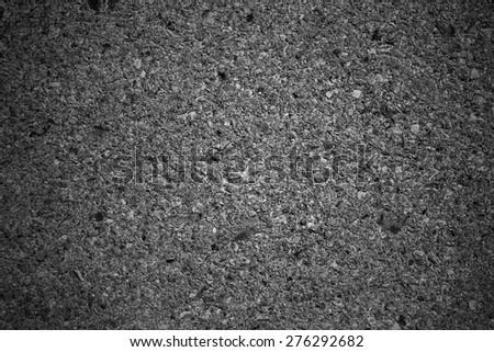 Asphalt clear road surface - stock photo