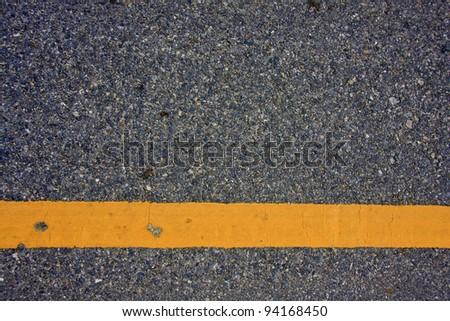 asphalt road surface - stock photo