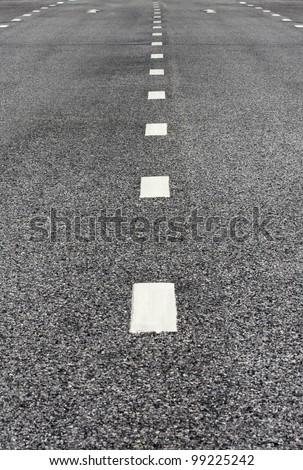 asphalt road texture - stock photo