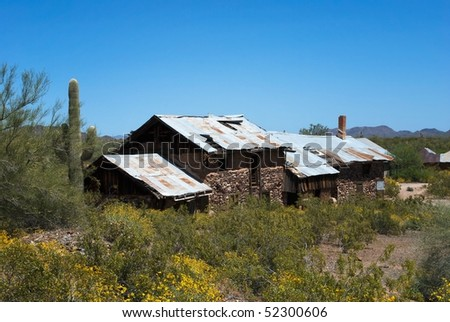 Assay Office of Vulture Mine, Arizona