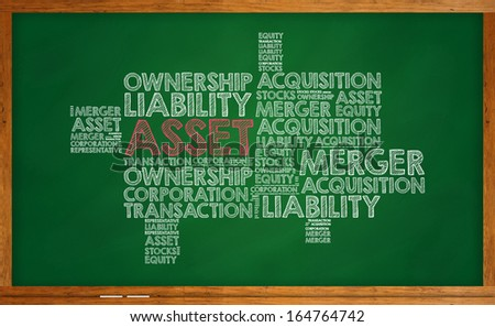 Asset - stock photo