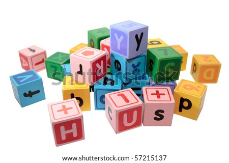 Isometric set elements periodic table mendeleevs stock assorted children toy letter building blocks against a white background urtaz Gallery