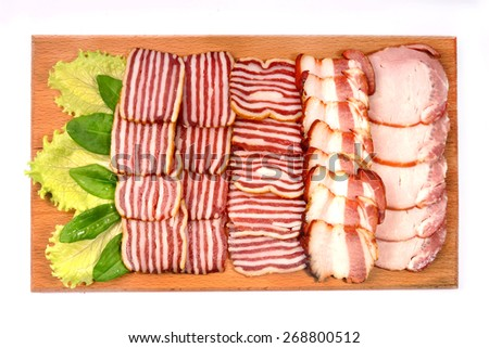 Assorted meat  - stock photo