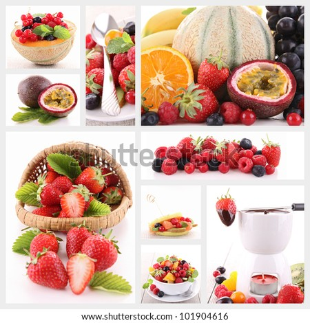 assorted of fresh fruit