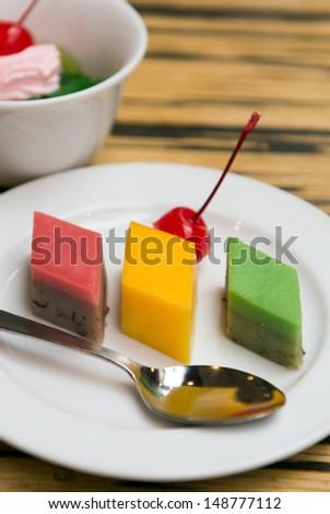 malay assorted types kueh dessert kuih shutterstock display