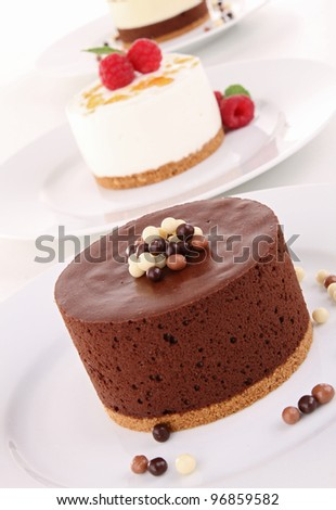 assortment of dessert - stock photo