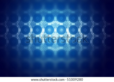 astral background, blue gradient with light effects