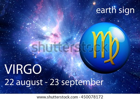 astrology sign of Virgo - stock photo