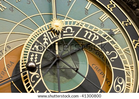 Astronomical Clock Detail View