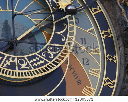 Astronomical clock. Prague. Central Europe. More Prague in my port.
