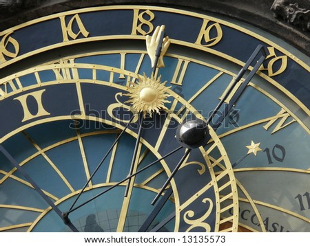 Astronomical clock. Prague. Czech Republic. More Prague in my port.