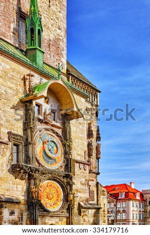 Astronomical Clock(Staromestske namesti)on historic square in the Old Town quarter of Prague, the capital of the Czech Republic. It is located between Wenceslas Square and the Charles Bridge.