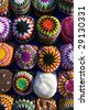 Aswan market Colorful Hats - stock photo