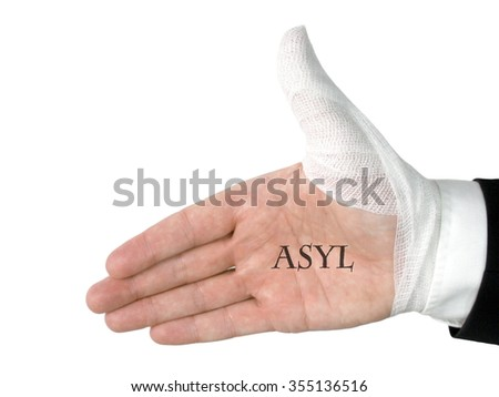 Asylum - stock photo