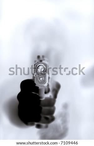 At Gunpoint - stock photo