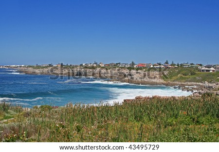 At Hermanus in South Africa - stock photo